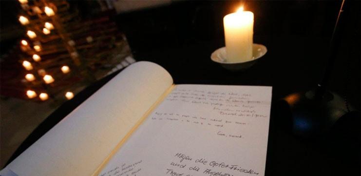 Libro de Condolencias